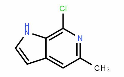 7-氯-5-甲基-1H-吡咯并[2,3-c]吡啶