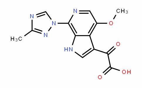 1H-Pyrrolo[2,3-c]pyriDine-3-acetic acid, 4-methoxy-7-(3-methyl-1H-1,2,4-triazol-1-yl)-α-oxo-