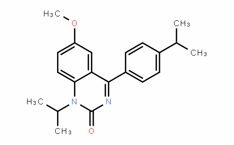 1-isopropyl-4-(4-isopropylphenyl)-6-methoxyquinazolin-2(1H)-one