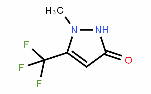 1-methyl-5-trifluoromethyl-1,2-DihyDropyrazol-3-one