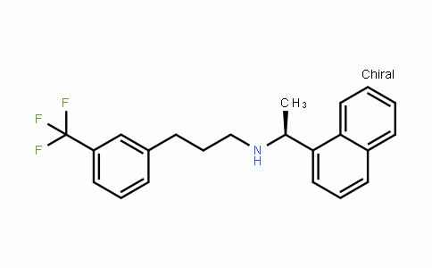1-Naphthalenemethanamine, α-methyl-N-[3-[3-(trifluoromethyl)phenyl]propyl]-, (αS)-