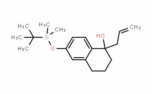 1-Naphthalenol, 6-[[(1,1-Dimethylethyl)Dimethylsilyl]oxy]-1,2,3,4-tetrahyDro-1-(2-propen-1-yl)-