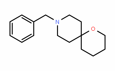 1-Oxa-9-azaspiro[5.5]unDecane, 9-(phenylmethyl)-