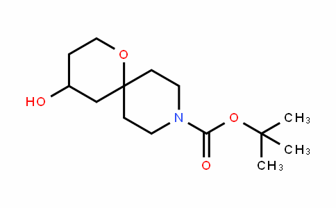 1-Oxa-9-azaspiro[5.5]unDecane-9-carboxylic acid, 4-hyDroxy-, 1,1-Dimethylethyl ester
