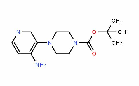 1-Piperazinecarboxylic acid, 4-(4-amino-3-pyriDinyl)-, 1,1-Dimethylethyl ester