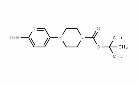 1-Piperazinecarboxylic acid, 4-(6-amino-3-pyriDinyl)-, 1,1-Dimethylethyl ester