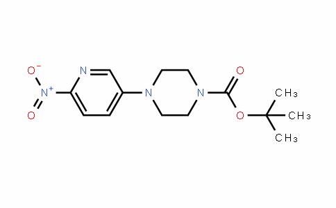 1-Piperazinecarboxylic acid, 4-(6-nitro-3-pyriDinyl)-, 1,1-Dimethylethyl ester