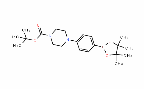 1-Piperazinecarboxylic acid, 4-[4-(4,4,5,5-tetramethyl-1,3,2-Dioxaborolan-2-yl)phenyl]-, 1,1-Dimethylethyl ester