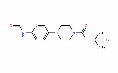 1-Piperazinecarboxylic acid, 4-[6-(formylamino)-3-pyriDinyl]-, 1,1-Dimethylethyl ester