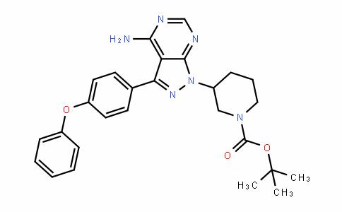 1-PiperiDinecarboxylic acid, 3-[4-amino-3-(4-phenoxyphenyl)-1H-pyrazolo[3,4-D]pyrimiDin-1-yl]-, 1,1-Dimethylethyl ester