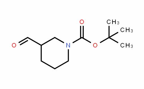 1-PiperiDinecarboxylic acid, 3-formyl-, 1,1-Dimethylethyl ester