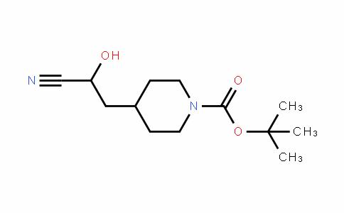 1-PiperiDinecarboxylic acid, 4-(2-cyano-2-hyDroxyethyl)-, 1,1-Dimethylethyl ester