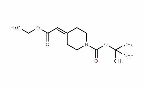 1-PiperiDinecarboxylic acid, 4-(2-ethoxy-2-oxoethyliDene)-, 1,1-Dimethylethyl ester