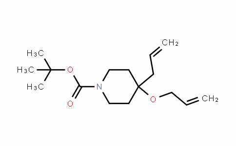 1-PiperiDinecarboxylic acid, 4-(2-propen-1-yl)-4-(2-propen-1-yloxy)-, 1,1-Dimethylethyl ester
