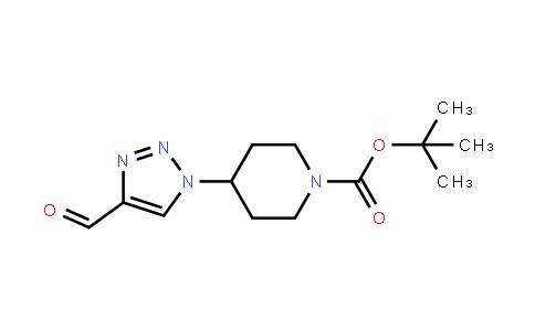 1-PiperiDinecarboxylic acid, 4-(4-formyl-1H-1,2,3-triazol-1-yl)-, 1,1-Dimethylethyl ester