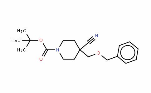 4-氰基-4-[(苯基甲氧基)甲基]-1-哌啶羧酸叔丁酯