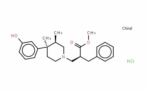 1-PiperiDinepropanoic acid, 4-(3-hyDroxyphenyl)-3,4-Dimethyl-α-(phenylmethyl)-, methyl ester, hyDrochloriDe (1:1), (αS,3R,4R)-