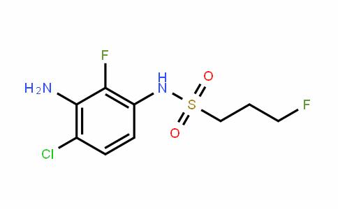 1-PropanesulfonamiDe, N-(3-amino-4-chloro-2-fluorophenyl)-3-fluoro-