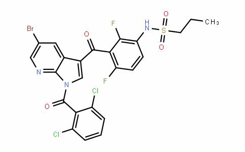 1-PropanesulfonamiDe, N-[3-[[5-bromo-1-(2,6-Dichlorobenzoyl)-1H-pyrrolo[2,3-b]pyriDin-3-yl]carbonyl]-2,4-Difluorophenyl]-