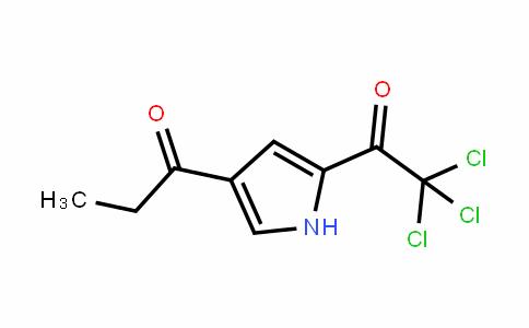 1-Propanone, 1-[5-(trichloroacetyl)-1H-pyrrol-3-yl]-