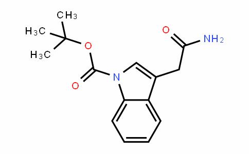 1-Tert-Butoxycarbonyl-1H-inDole-3-acetamiDe