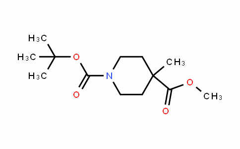 1-Tert-butyl 4-methyl 4-methylpiperiDine-1,4-Dicarboxylate