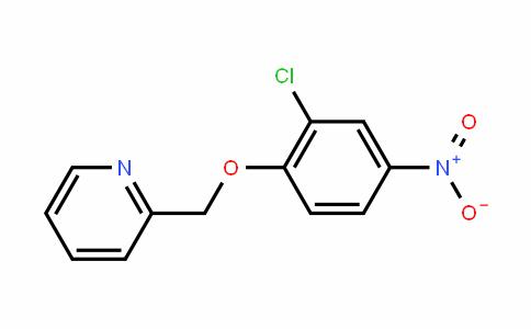 2-((2-chloro-4-nitrophenoxy)methyl)pyriDine