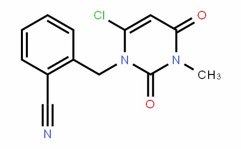 2-((6-chloro-3-methyl-2,4-Dioxo-3,4-DihyDropyrimiDin-1(2H)-yl)methyl)benzonitrile