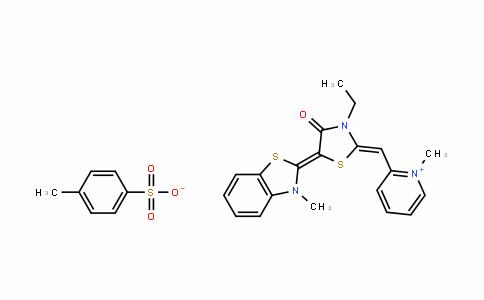 2-((Z)-((E)-3-ethyl-5-(3-methylbenzo[D]thiazol-2(3H)-yliDene)-4-oxothiazoliDin-2-yliDene)methyl)-1-methylpyriDin-1-ium 4-methylbenzenesulfonate