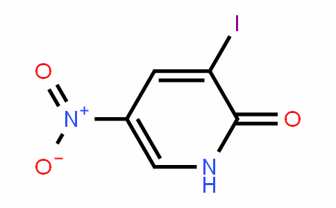 2(1H)-PyriDinone, 3-ioDo-5-nitro-