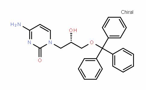 2(1H)-PyrimiDinone, 4-amino-1-[(2S)-2-hyDroxy-3-(triphenylmethoxy)propyl]-