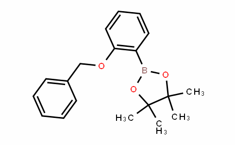 2-(2-(benzyloxy)phenyl)-4,4,5,5-tetramethyl-1,3,2-Dioxaborolane