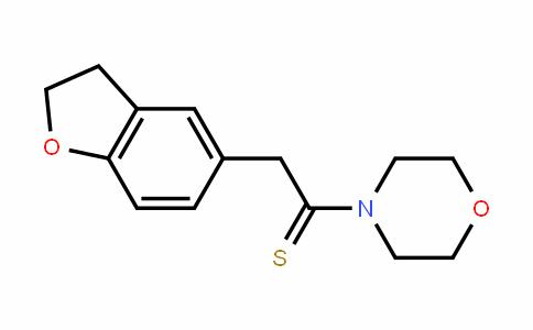 2-(2,3-DihyDrobenzofuran-5-yl)-1-morpholinoethanethione