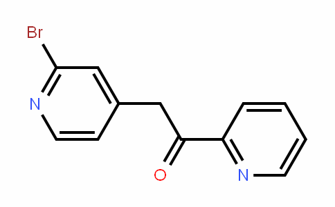 2-(2-bromopyriDin-4-yl)-1-(pyriDin-2-yl)ethanone