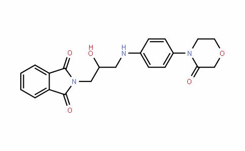 2-(2-hyDroxy-3-(4-(3-oxomorpholino)phenylamino)propyl)isoinDoline-1,3-Dione