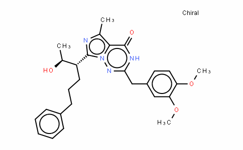 2-(3,4-Dimethoxybenzyl)-7-((2S,3S)-2-hyDroxy-6-phenylhexan-3-yl)-5-methylimiDazo[1,5-f][1,2,4]triazin-4(3H)-one