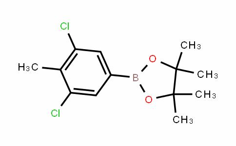 2-(3,5-Dichloro-4-methylphenyl)-4,4,5,5-tetramethyl-1,3,2-Dioxaborolane
