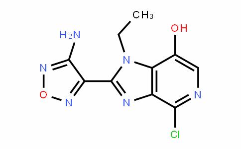 2-(4-amino-1,2,5-oxaDiazol-3-yl)-4-chloro-1-ethyl-1H-imiDazo[4,5-c]pyriDin-7-ol