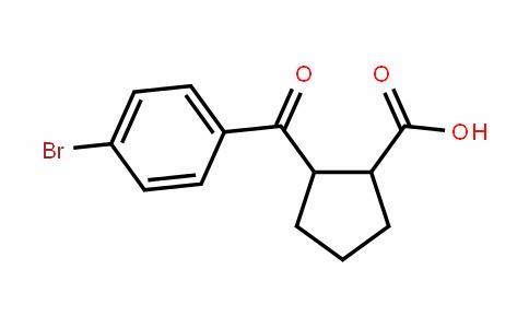2-(4-bromobenzoyl)cyclopentanecarboxylic acid