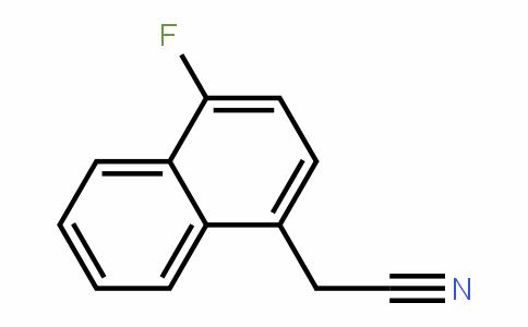 2-(4-fluoronaphthalen-1-yl)acetonitrile