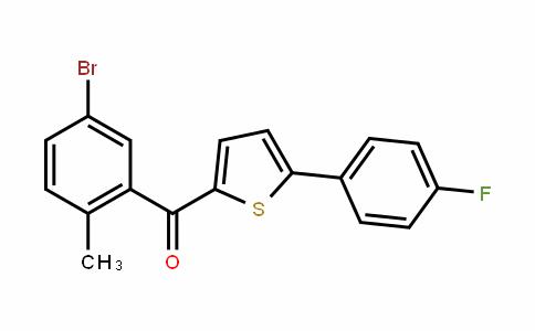 2-(5-Bromo-2-methylbenzoyl)-5-(4-fluorophenyl)thiophene