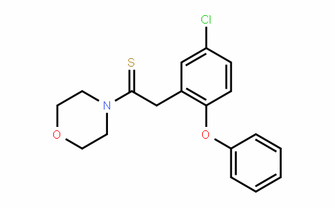 2-(5-chloro-2-phenoxyphenyl)-1-morpholinoethanethione