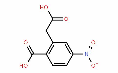 2-(carboxymethyl)-4-nitrobenzoic acid