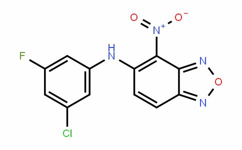 2,1,3-BenzoxaDiazol-5-amine, N-(3-chloro-5-fluorophenyl)-4-nitro-
