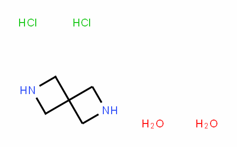 2,6-Diazaspiro[3.3]heptane, (HyDrochloriDe), hyDrate (1:2:2)