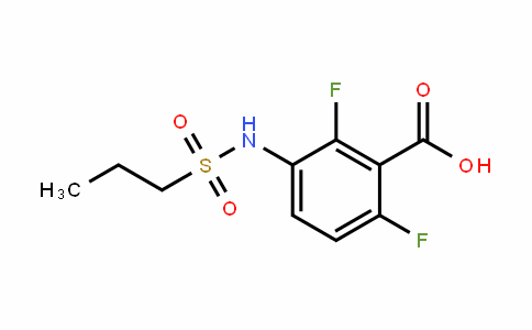 2,6-Difluoro-3-(propylsulfonamiDo)benzoic acid