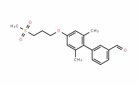 2',6'-Dimethyl-4'-(3-(methylsulfonyl)propoxy)biphenyl-3-carbalDehyDe
