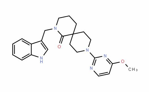 2,9-Diazaspiro[5.5]unDecan-1-one, 2-(1H-inDol-3-ylmethyl)-9-(4-methoxy-2-pyrimiDinyl)-