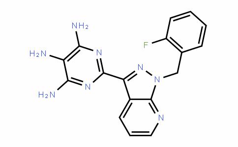 2-[1-(2-Fluorobenzyl)-1H-pyrazolo[3,4-b]pyriDin-3-yl]pyrimiDine-4,5,6-triamine