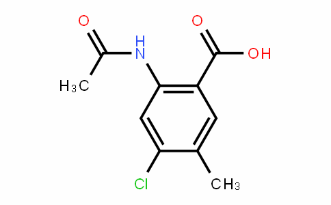 2-acetamiDo-4-chloro-5-methylbenzoic acid